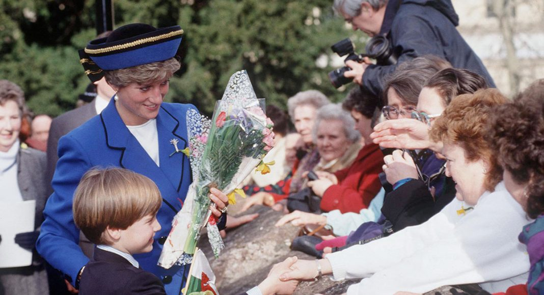 A look back at Prince Williams first engagement with mum Princess Diana Photo C GETTY IMAGES