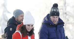 A royal source reportedly said the Cambridges have headed for the ski slopes after the unfortunate diary clash