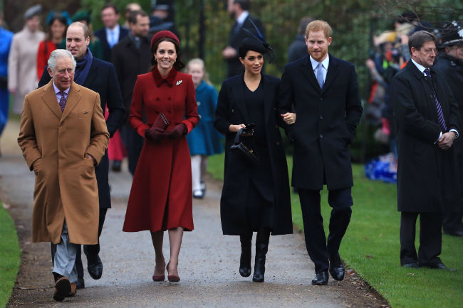 Charles sons and their wives Kate and Meghan will attend the reception Photo C GETTY IMAGES