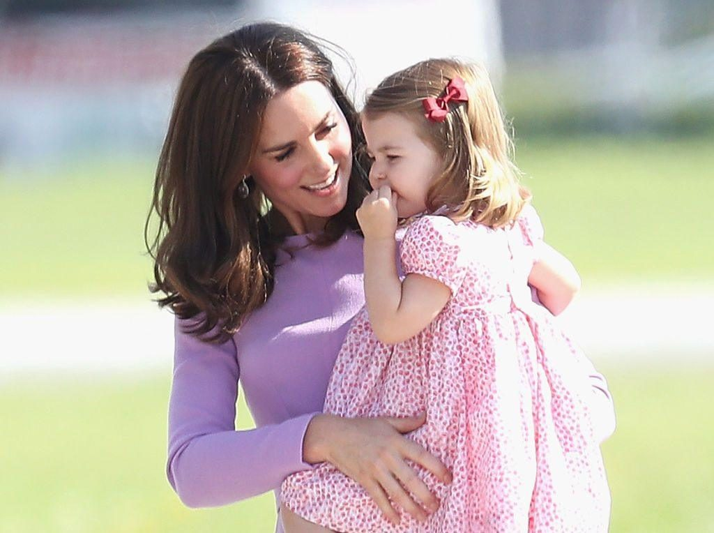 Catherine Duchess of Cambridge and Princess Charlotte Photo (C) GETTY IMAGES