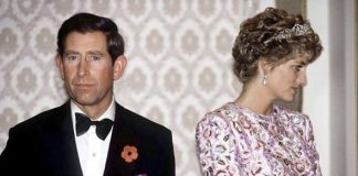Diana and Charles split in Image GETTY