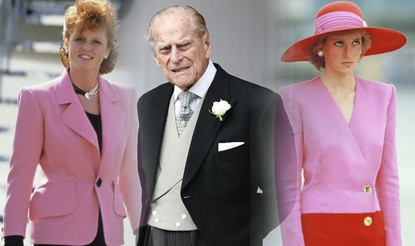 Diana and Sarah Ferguson have both felt the wrath of Prince Philip over their marital problems Image Getty