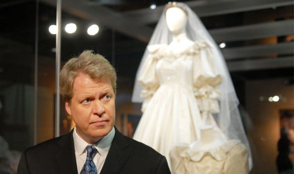 dianas brother charles spencer at an exhibition of her wedding dress image getty dianalegacy latest update news images videos of british royal family dianalegacy