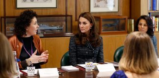 Duchess Kate spoke at the Mental Health in Education conference in London Photo C GETTY IMAGES