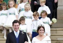 Eugenie and Jack married on October last year Image GETTY