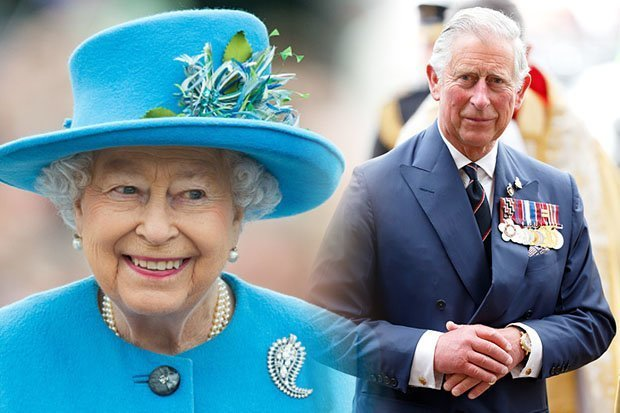 HEIR HE IS The Queen is reportedly preparing to make Prince Charles King in all but name Pic GETTY
