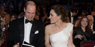 Its so quiet Kate laughed as they settled into the seats Photo C PA