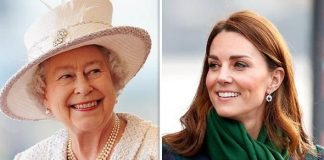 Kate is beginning to take style tips from the Queen ImageGETTY