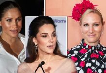 Meghan Markle and Kate Middleton have a different role in the Royal Family to Zara Tindall Image GETTY