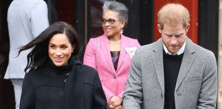 Meghan Markle baby Meghan is due to give birth in April Image Getty