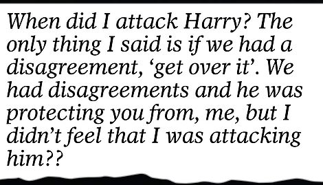 Mr Markle replied by insisting he never attacked Harry but feels he should have met him before the wedding