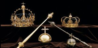 Priceless stolen crown jewels found in bin months after theft