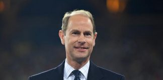 Prince Edward was forced to honor Princess Diana during her funeral Pictured