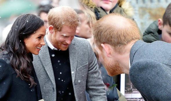 Prince Harrys balding areas have expanded since his marriage to Meghan Markle Image GETTY