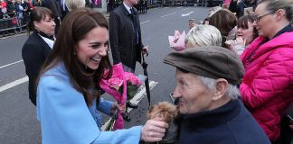 Prince William and Kate Middleton are a hit with children on Northern Ireland visit Photo C PA