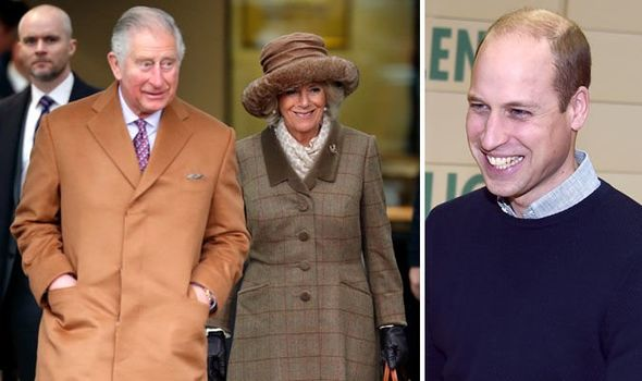 Prince William paved the way for Prince Charles and Camillas realtionship claims a royal author Image Getty