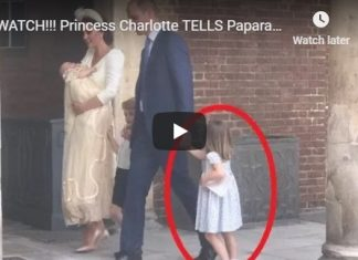 Princess Charlotte TELLS Paparazzi Youre NOT COMING At Prince Louis Christening