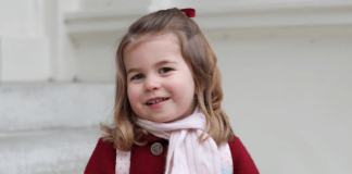Princess Charlotte on her first day of nursery school Kensington Royal via Instagram