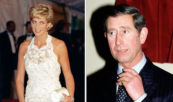 Princess Diana and Prince Charles pictured in Image Getty