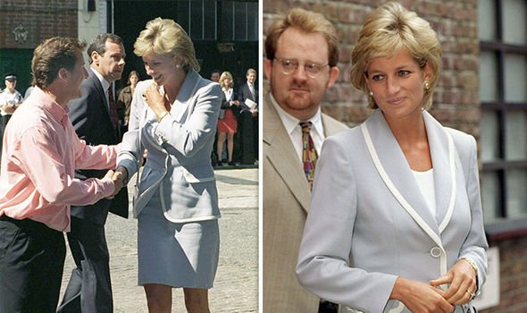 Princess Diana visited the English National Ballet on the day of the degree absolute Image Getty