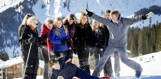Royal family show off playful side during ski holiday Fun in the snow Photo C GETTY IMAGES