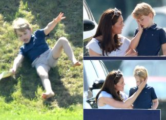 Royal naughty moments from Prince Harry to Prince George and Princess Charlotte Photo C GETTY IMAGES
