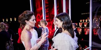 She also chatted with her co star Rachel Weisz Photo C REX