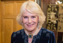 The Duchess of Cornwall looks super chic in polka dots Photo C GETTY IMAGES
