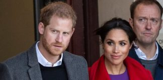 The Duke and Duchess of Sussex in Birkenhead ImageGETTY