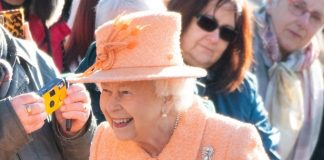 The Queen stays at Sandringham from Christmas until the date of her fathers death Credit PA
