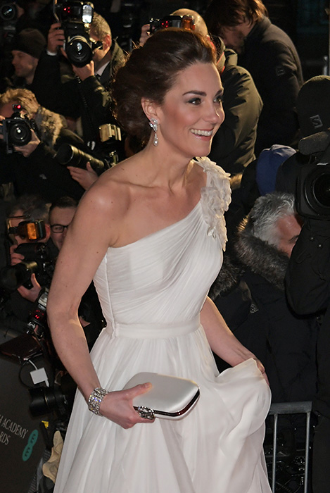The dress was made especially for Kate by one of her favourite designers Photo C GETTY IMAGES