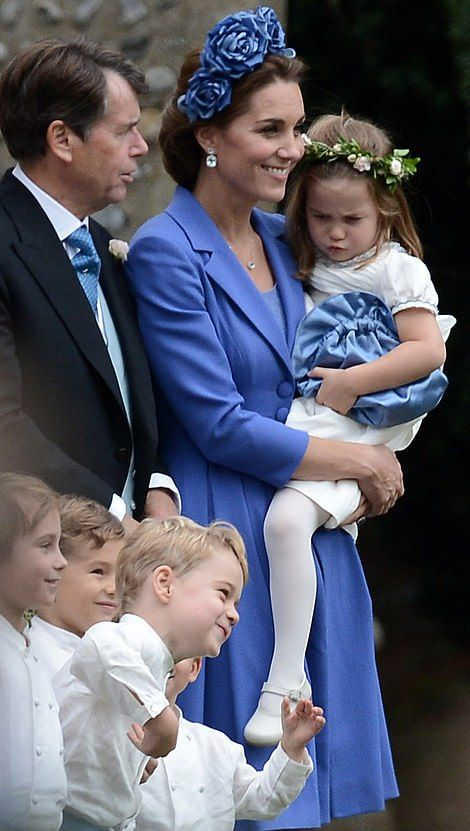 When Prince George and Princess Charlotte acted as a pageboy and bridesmaid on Saturday in Letheringsett Norfolk all eyes were again on the two little royals