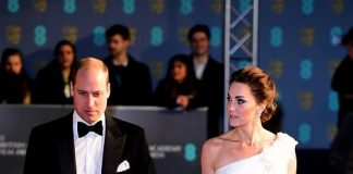 estimated to cost around £ while her husband the Duke of Cambridge donned a black tuxedo