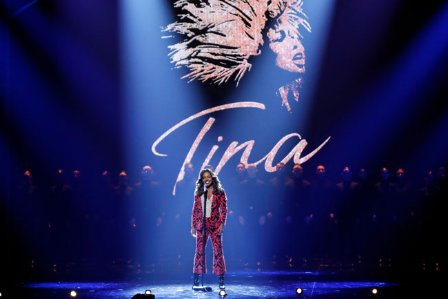 Adrienne Warren from TINA The Musical performed at The Royal Variety Performance Show last year photo c getty images