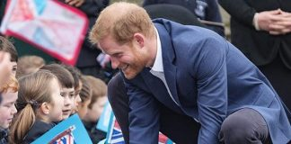Bring on even more sweet paternal moments from Harry Image Getty