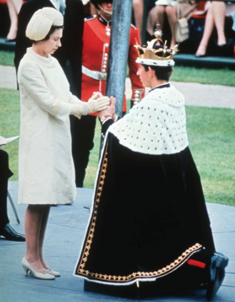 CELEBRATION The Queen hosted todays bash in honour of her eldest son Charles Pic Getty