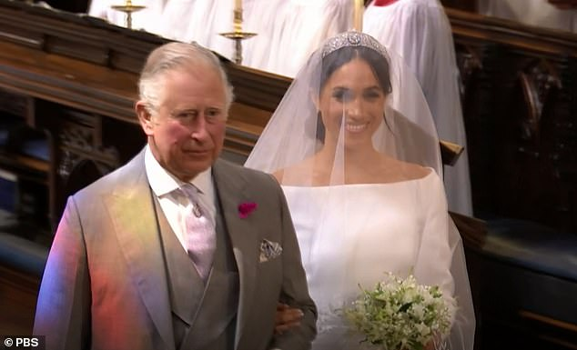 Charles demonstrated just how close he is to Harry when he stepped in at the last minute to walk Meghan down the aisle at their Windsor wedding on May last year