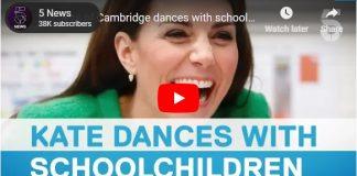 Duchess of Cambridge dances with schoolchildren News