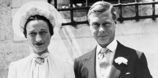 Edward sparked an abdication crisis in over marrying Wallis Image GETTY
