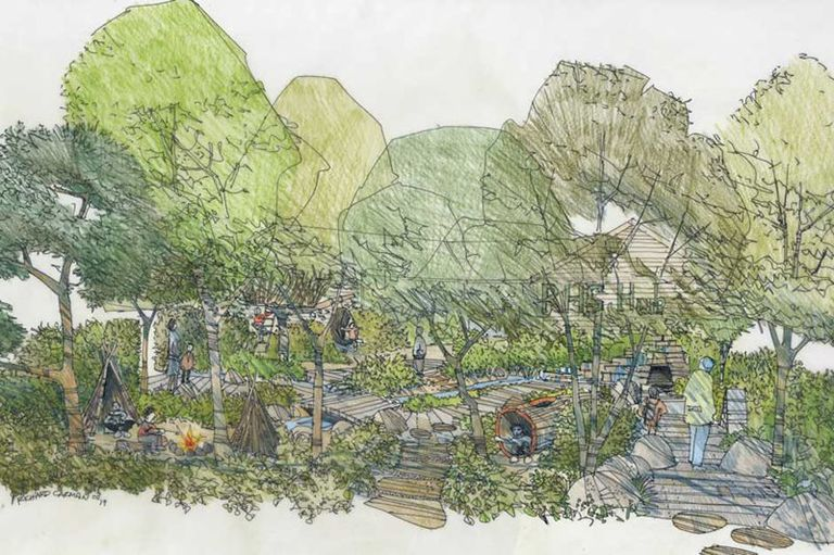 HRH Duchess Kate Middleton's garden design Photo C INSTAGRAM