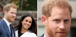 Harry has hinted he does not want their child to be valued on its royal background Image GETTY