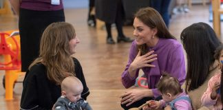 Kate Middleton bonds with diva twins in the making and talks Prince Louis on Lambeth visit Photo C GETTY IMAGES