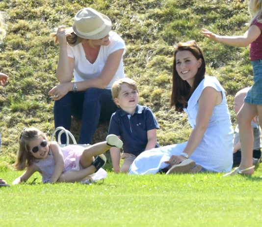 Kate loves spending time outdoors with her children PHORTO c GETTY IMAGES