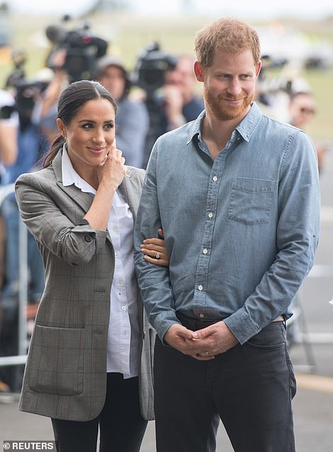 Loved up newlyweds Meghan and year old Harrys tactile displays during their Australasia raised eyebrows among some etiquette