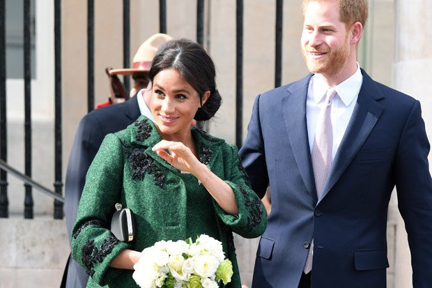 MEGHAN AND HARRY The pair took part in royal duties on Commonwealth Day Pic GETTY