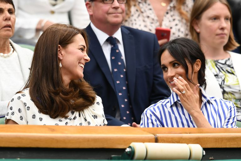 Meghan Markle and Kate Middleton may rarely have engagements together their first in was Tuesday Photo C GETTY IMAGES