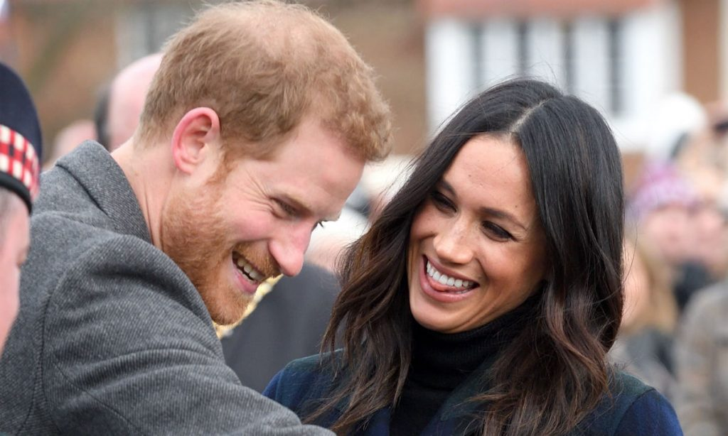 Meghan Markle and Prince Harrys royal babys gender revealed after latest update Photo C GETTY IMAGES