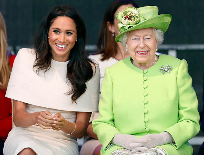 Meghan Markle has been given a special gift by the Queen PHOTO c GETTY IMAGES