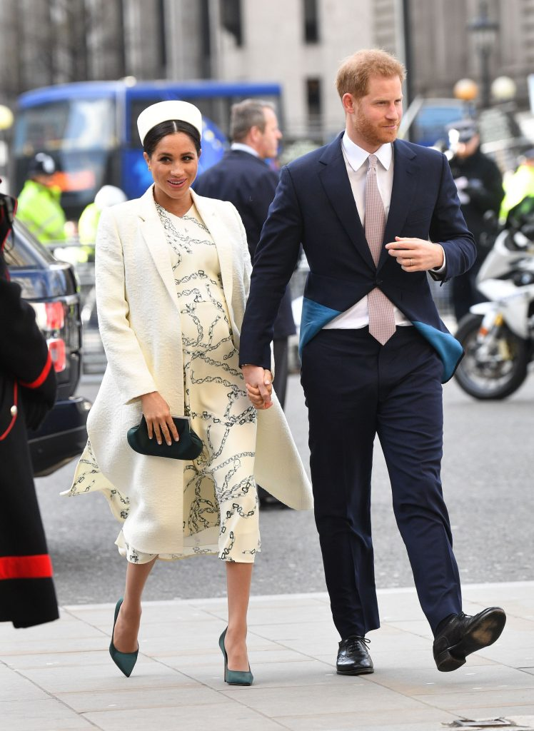 Meghan and Harry at the Commonwealth service Photo C GETTY IMAGES