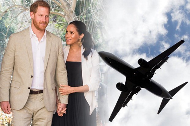 Meghan and Harry have apparently jetted to LA to visit the Duchesss mum Pic GETTY